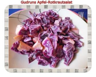 Salat: Apfel-Rotkrautsalat - Rezept