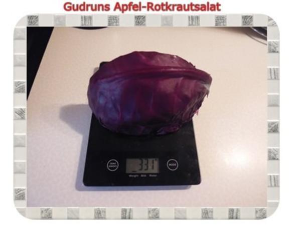 Salat: Apfel-Rotkrautsalat - Rezept - Bild Nr. 2