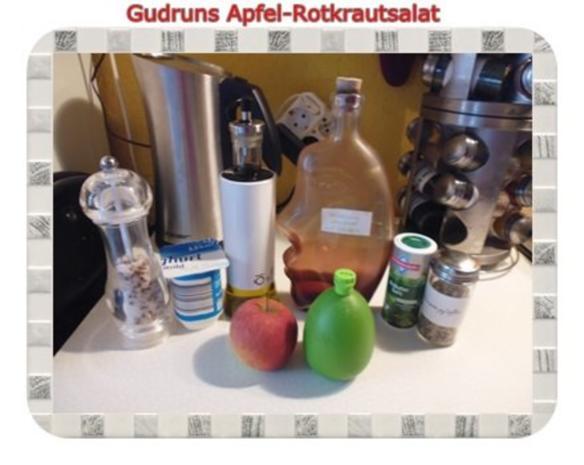 Salat: Apfel-Rotkrautsalat - Rezept - Bild Nr. 4