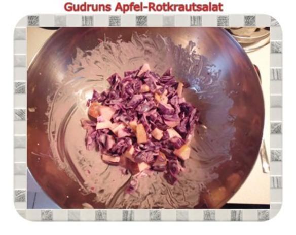 Salat: Apfel-Rotkrautsalat - Rezept - Bild Nr. 7