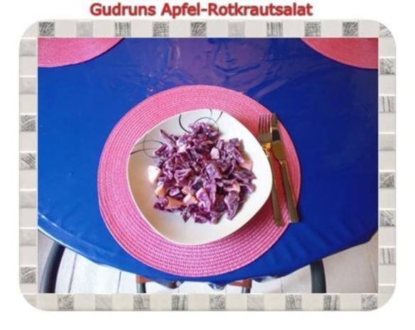 Salat: Apfel-Rotkrautsalat - Rezept - Bild Nr. 8