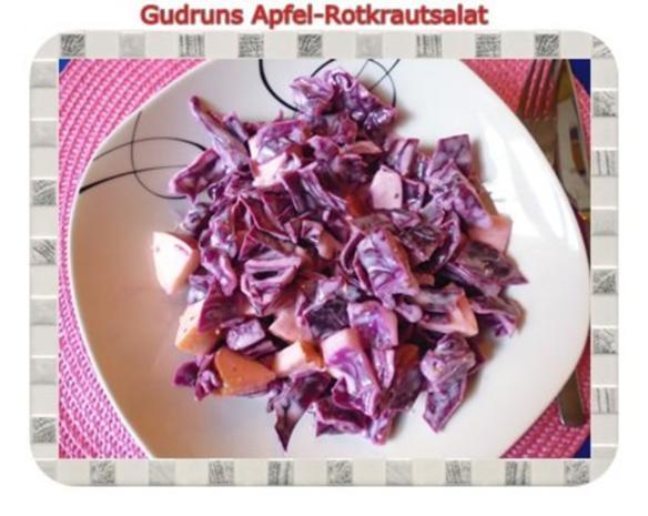 Salat: Apfel-Rotkrautsalat - Rezept - Bild Nr. 9