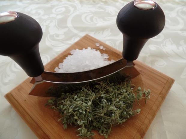 Thymian-Salz - Rezept