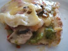Pikantes Backen: Pizza mal nicht typisch - Rezept