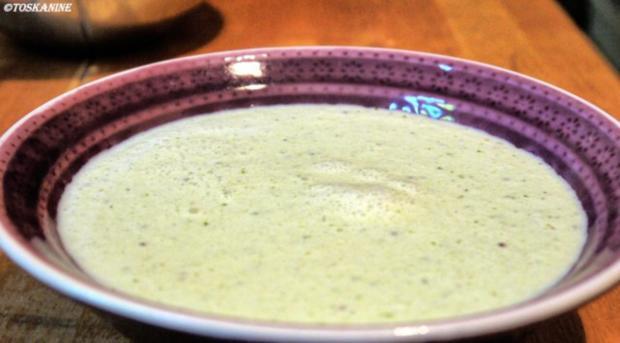 Kalte Gurken-Basilikum-Suppe - Rezept - Bild Nr. 10