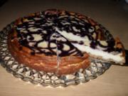 Heidelbeer-Mascarpone-Käsekuchen - Rezept