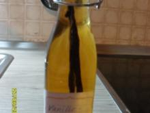 Vanilleextrakt mit Wodka - Rezept