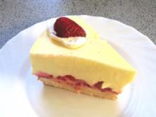 Backen: Mini-Joghurt-Erdbeer-Torte - Rezept