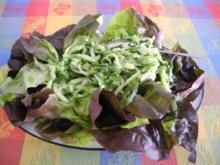 Salat : ...schnell gemacht - Rezept