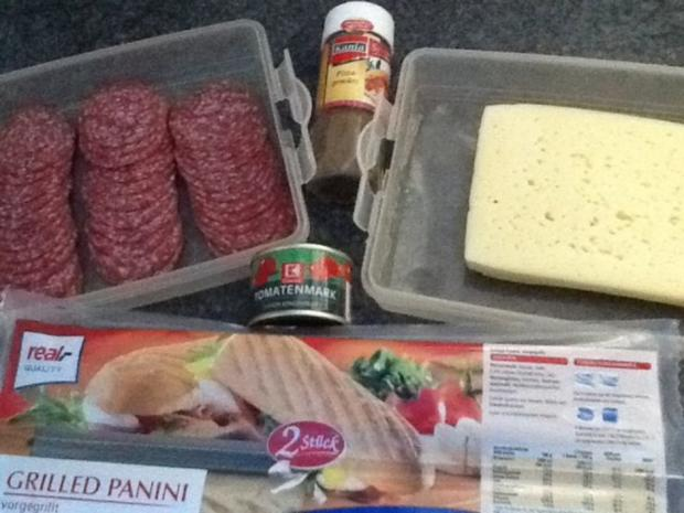 Mein Grilled Panini - Rezept