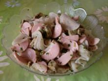 Rettich - Knödel - Wurstsalat - Rezept