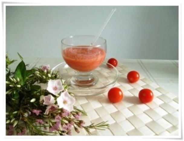 ☀ Erfrischender Tomaten- Gurke Smoothie ☀ - Rezept - Bild Nr. 9