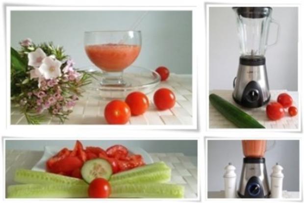 ☀ Erfrischender Tomaten- Gurke Smoothie ☀ - Rezept - Bild Nr. 10