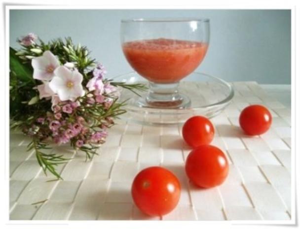 ☀ Erfrischender Tomaten- Gurke Smoothie ☀ - Rezept - Bild Nr. 11