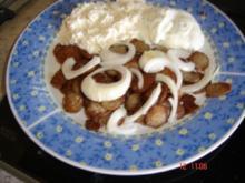 Bratwurst-Gyros mit Tzatziki - Rezept