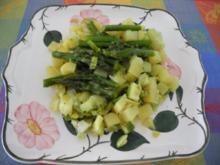 Vegan : Kartoffel - Spargel - Pfanne - Rezept