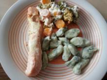 Gnocchi mit Blattspinat - Rezept