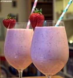 Erdbeer-Kokos-Drink - Rezept