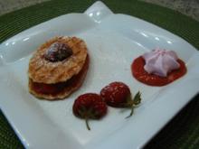 Erdbeer-Sandwich-Waffeln - Rezept