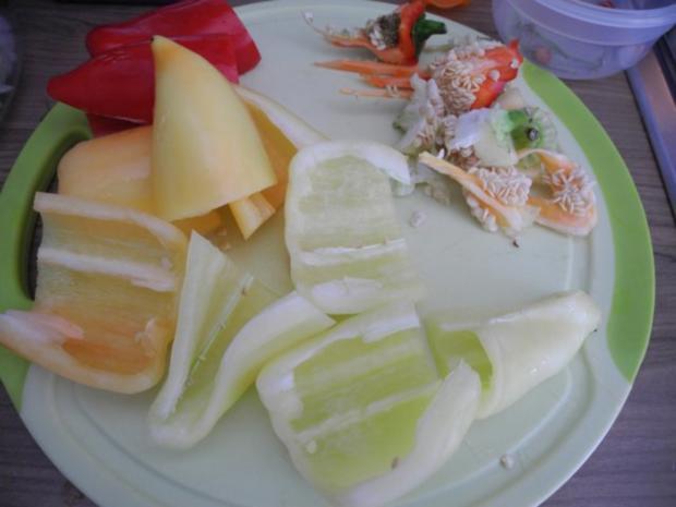 Vegan : Bunte Gemüse - Pfanne gedünstet - die nächste - Rezept - Bild Nr. 7