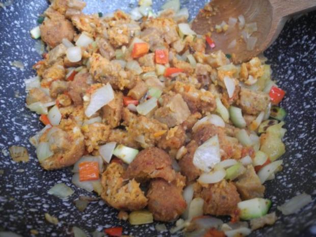 Vegan : Bunte Gemüse - Pfanne gedünstet - die nächste - Rezept - Bild Nr. 14
