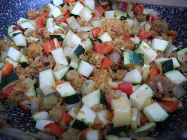Vegan : Bunte Gemüse - Pfanne gedünstet - die nächste - Rezept - Bild Nr. 16