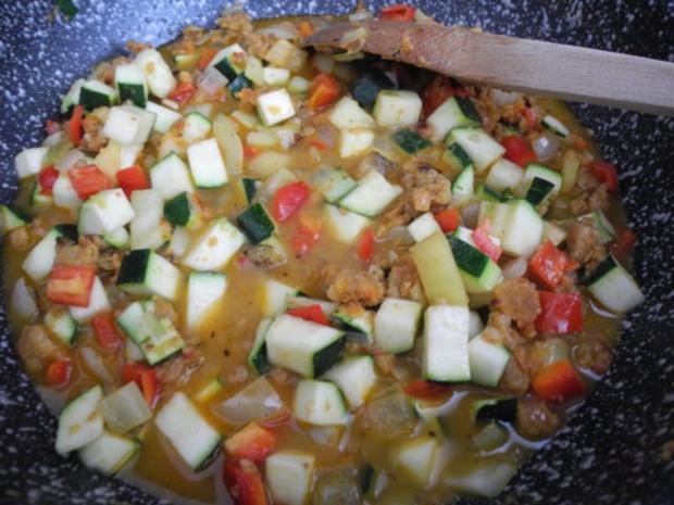 Vegan : Bunte Gemüse - Pfanne gedünstet - die nächste - Rezept - Bild Nr. 17