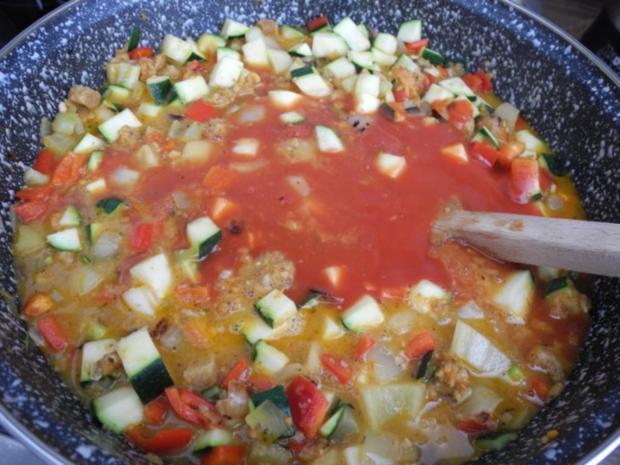 Vegan : Bunte Gemüse - Pfanne gedünstet - die nächste - Rezept - Bild Nr. 19