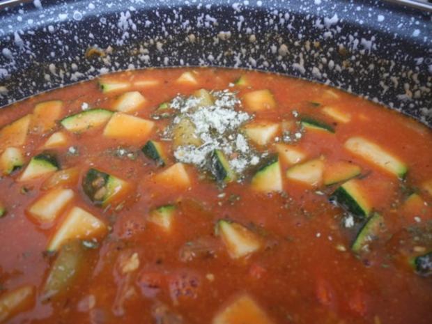 Vegan : Bunte Gemüse - Pfanne gedünstet - die nächste - Rezept - Bild Nr. 25