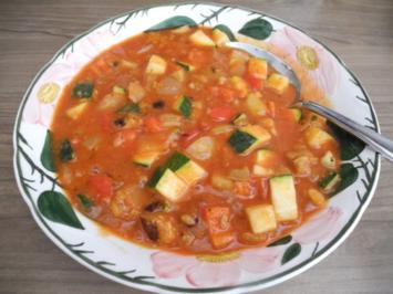 Rezept: Vegan : Bunte Gemüse - Pfanne gedünstet - die nächste
