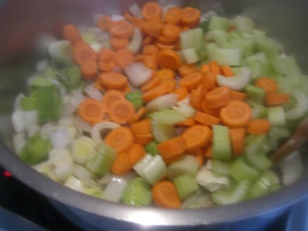 Gemüse-Rahm-Gulasch, scharf - Rezept - Bild Nr. 4