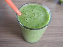 Smoothie : Pure Energie - Radieschen - Grün mit Banane - Rezept