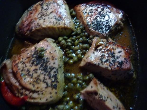Fisch: Thunfisch gebraten - Rezept - Bild Nr. 9
