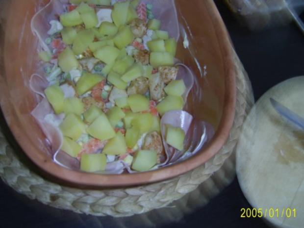 Auflauf: mit zartem Fleisch, Kartoffeln und Gemüse.... - Rezept - Bild Nr. 3