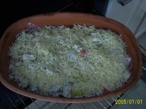 Auflauf: mit zartem Fleisch, Kartoffeln und Gemüse.... - Rezept - Bild Nr. 7