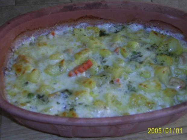 Auflauf: mit zartem Fleisch, Kartoffeln und Gemüse.... - Rezept - Bild Nr. 9