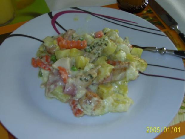 Auflauf: mit zartem Fleisch, Kartoffeln und Gemüse.... - Rezept - Bild Nr. 10