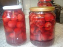Eingekochte Kirschen - Rezept