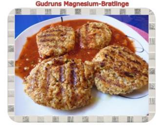 Vegetarisch: Magnesium-Bratlinge - Rezept