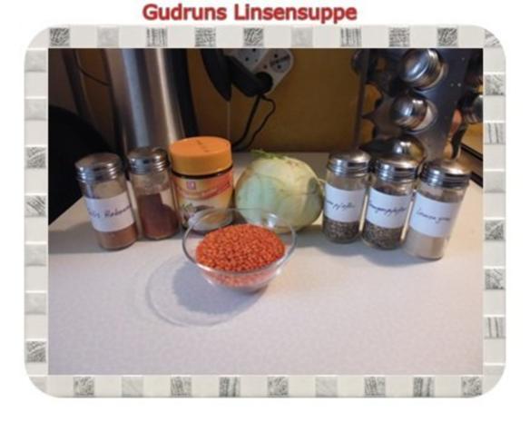 Suppe: Linsensuppe mit Kohlrabi - Rezept - Bild Nr. 2