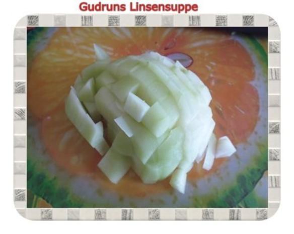 Suppe: Linsensuppe mit Kohlrabi - Rezept - Bild Nr. 4