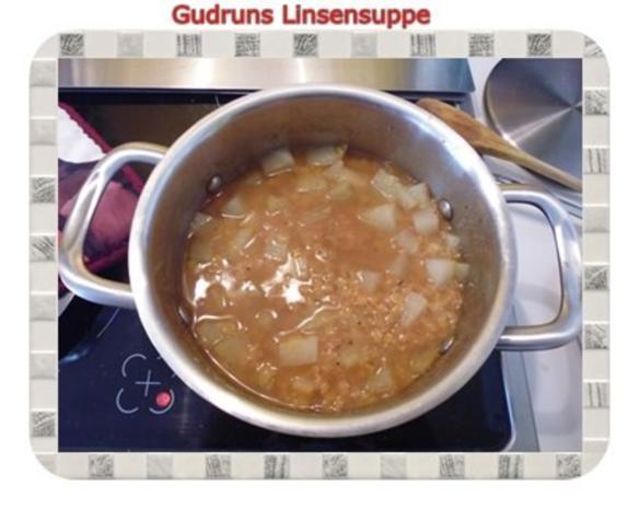 Suppe: Linsensuppe mit Kohlrabi - Rezept - Bild Nr. 7