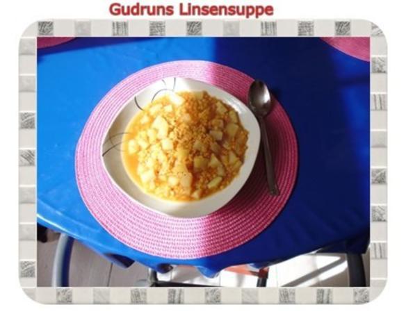 Suppe: Linsensuppe mit Kohlrabi - Rezept - Bild Nr. 8