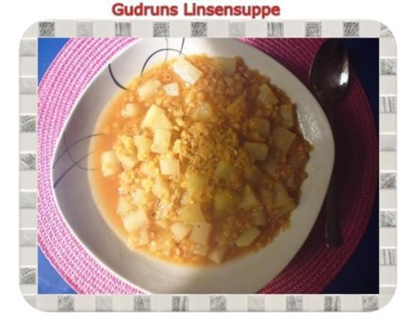 Suppe: Linsensuppe mit Kohlrabi - Rezept - Bild Nr. 9