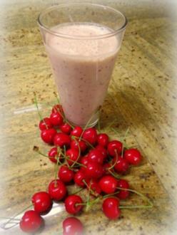 Kirsch-Joghurt-Shake - Rezept