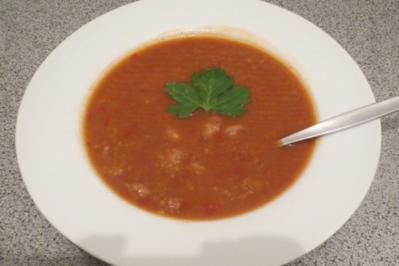 Rezept: Kochen: Wachtelbohnensuppe