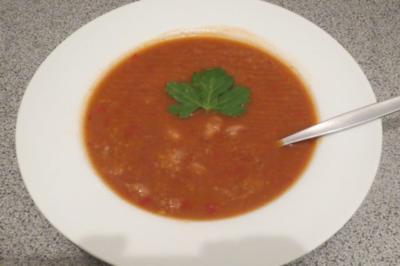 Kochen: Wachtelbohnensuppe - Rezept