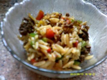 Rezept: Kritharaki- Salat