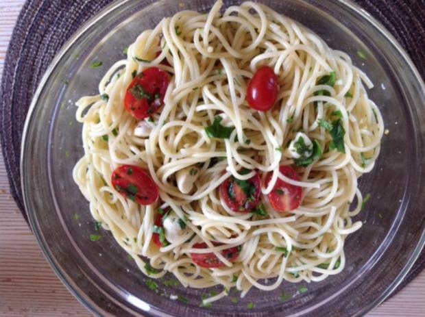 Spaghetti-Knobi-Salat - Rezept