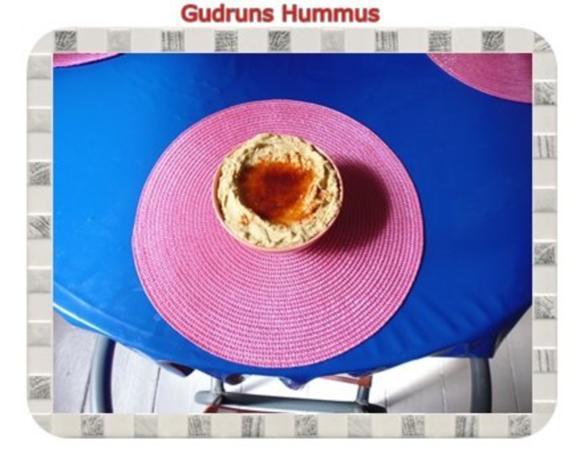 Dipp: Hummus - Rezept - Bild Nr. 8